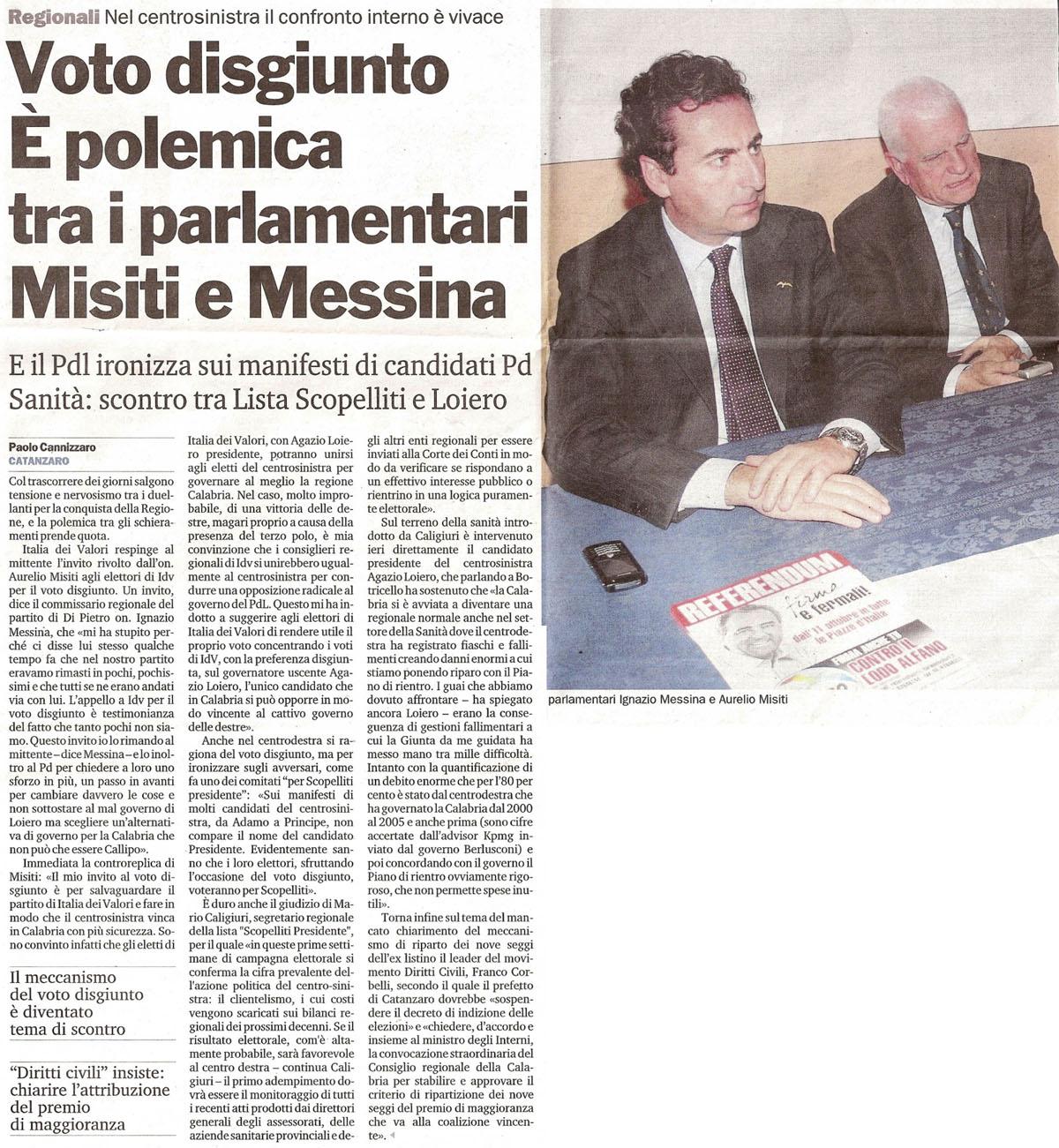 Procalabria blog archive elezioni regionali calabria for I parlamentari